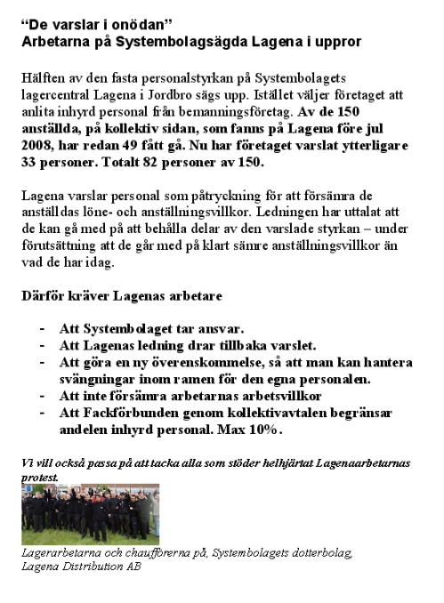 Flyers Systembolaget NYA